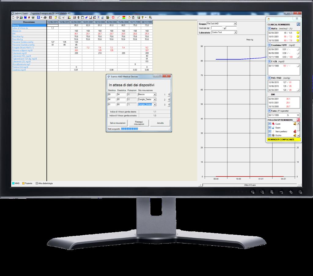 MonitorPC con screen TM